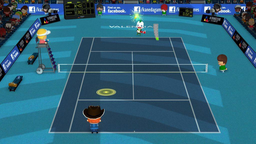 Análisis de Smoots World Cup Tennis - Analizamos Análisis de Smoots World Cup Tennis, el desenfadado juego de tenis arcade desarrollado por el estudio español Kaneda Games.