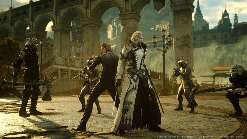Square Enix trabaja en un nuevo proyecto a Gran Escala