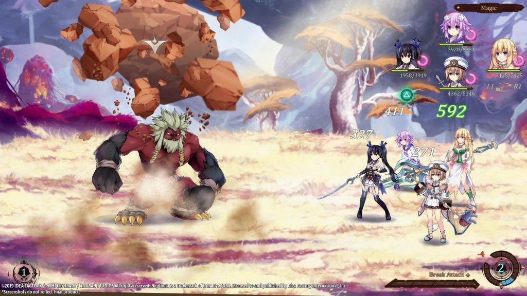 Super Neptunia RPG ya tiene fecha de lanzamiento para PC