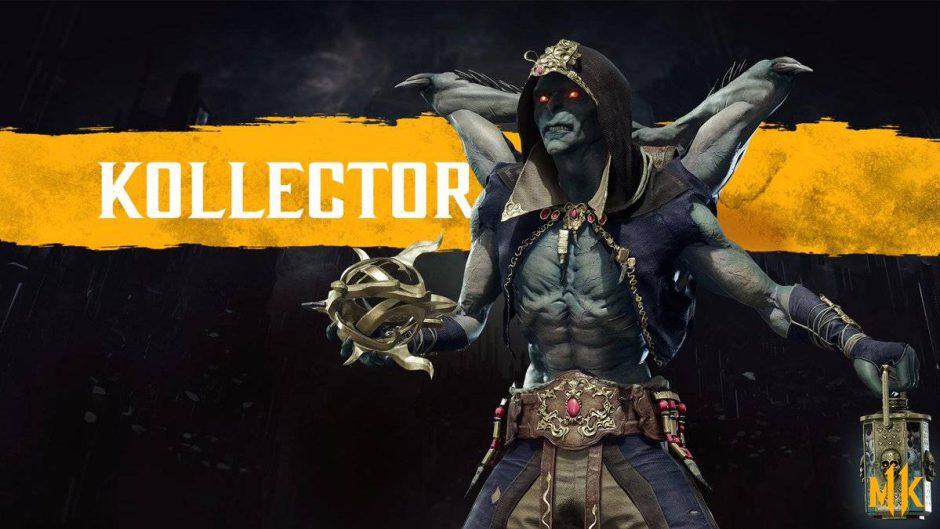 Mortal Kombat 11 presenta al brutal y despiadado Kollector