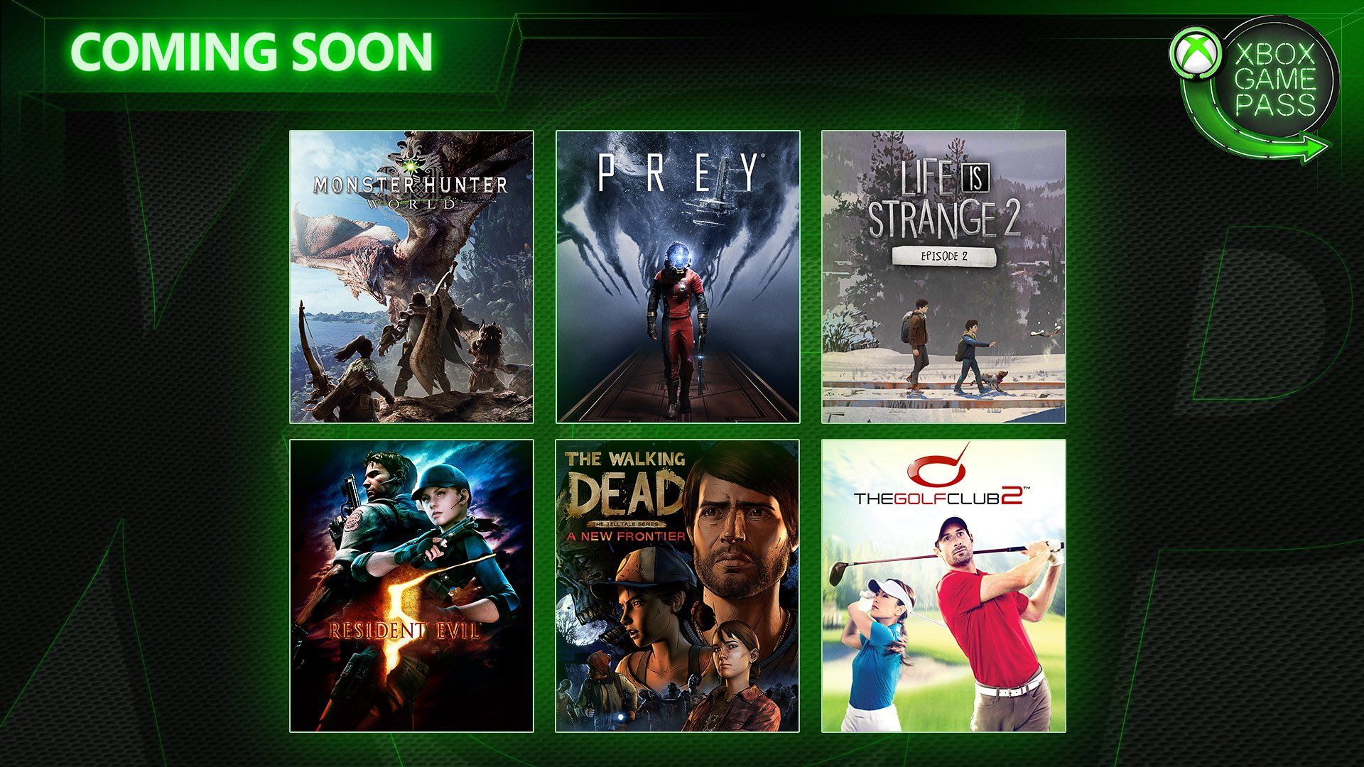 Prey y The Golf Club 2 ya disponibles en el catálogo de Xbox Game Pass