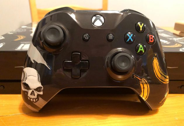Un usuario crea esta Xbox One X inspirada en Sea of Thieves 1