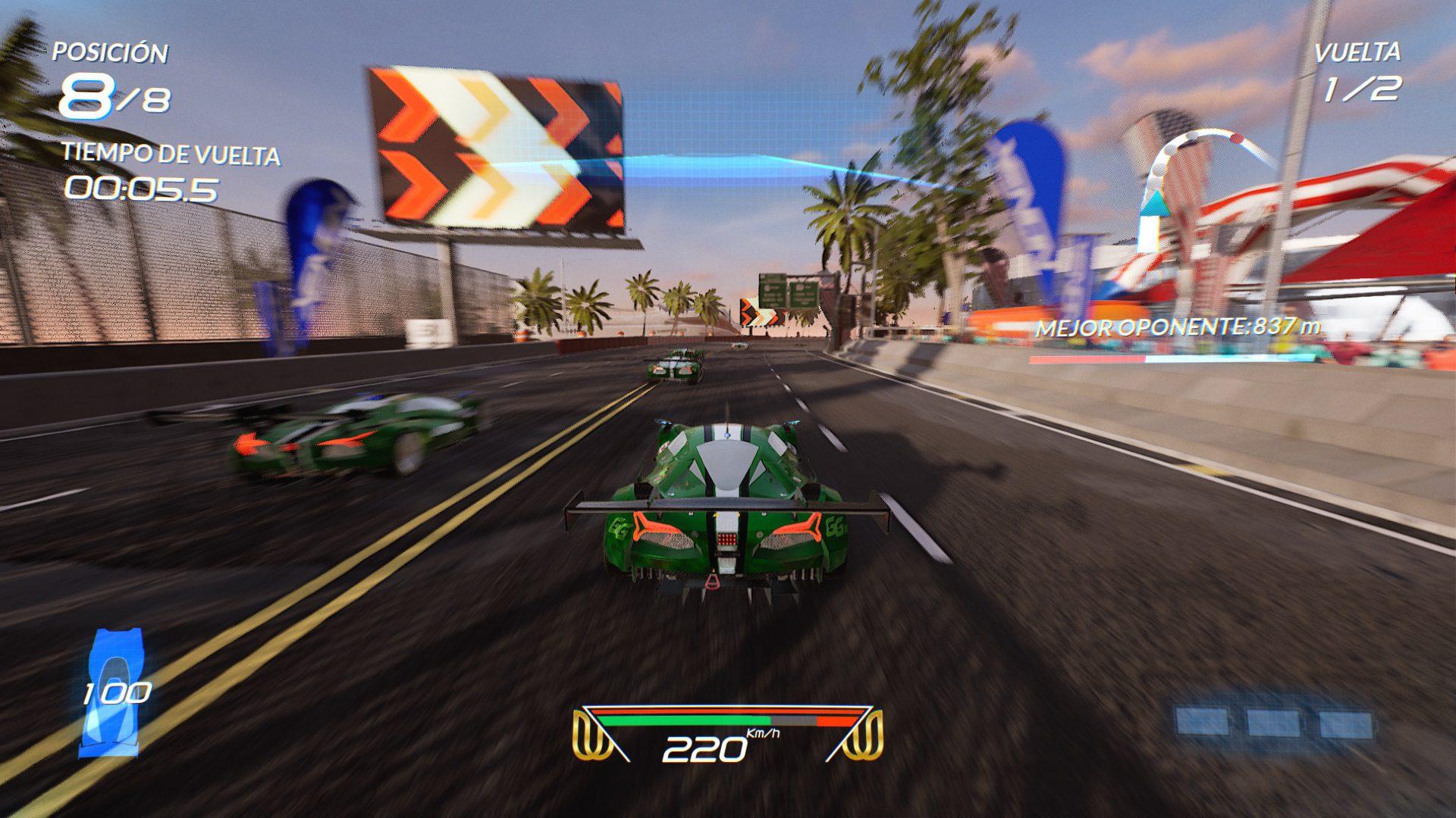 Análisis de Xenon Racer 2