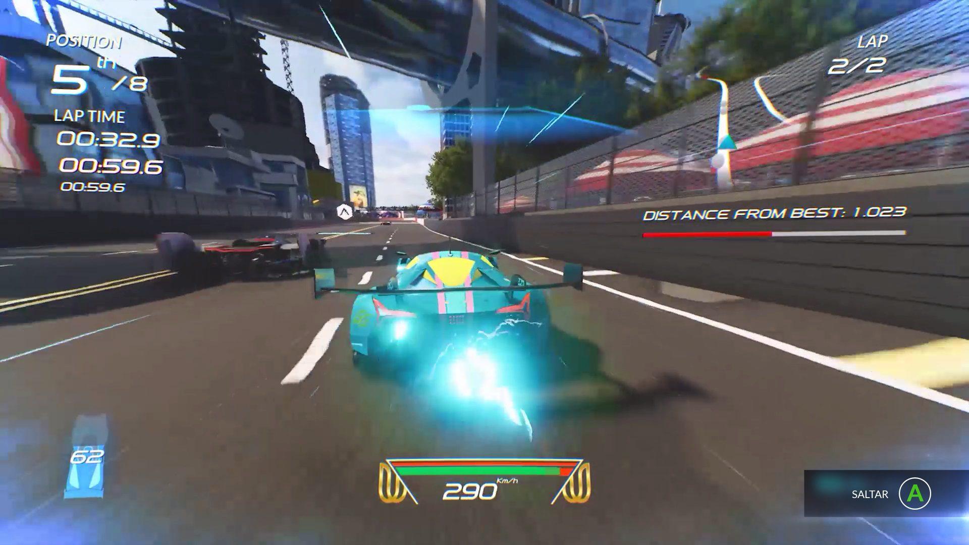 Análisis de Xenon Racer 4