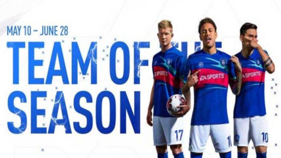 FIFA 19 anuncia al Equipo de la Temporada 'Team of Season'