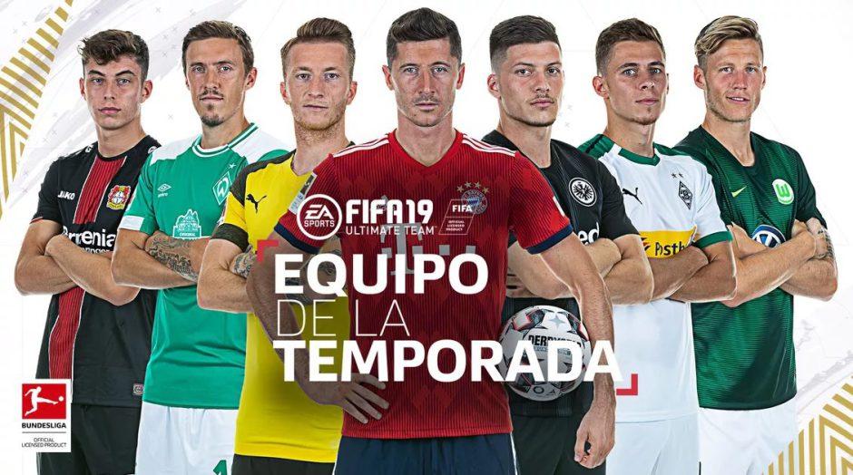 FIFA 19: Llegan los TOTS de la Bundesliga y Liga Portuguesa