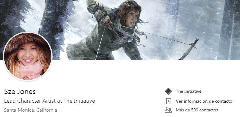 Ex-Naughty Dog, ex-Crystal Dynamics... una nueva diseñadora se une a The Initiative