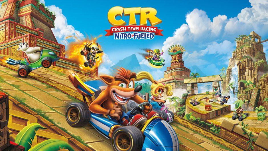 Crash Team Racing Nitro-Fueled: ¿Qué plataforma tiene más jugadores activos?