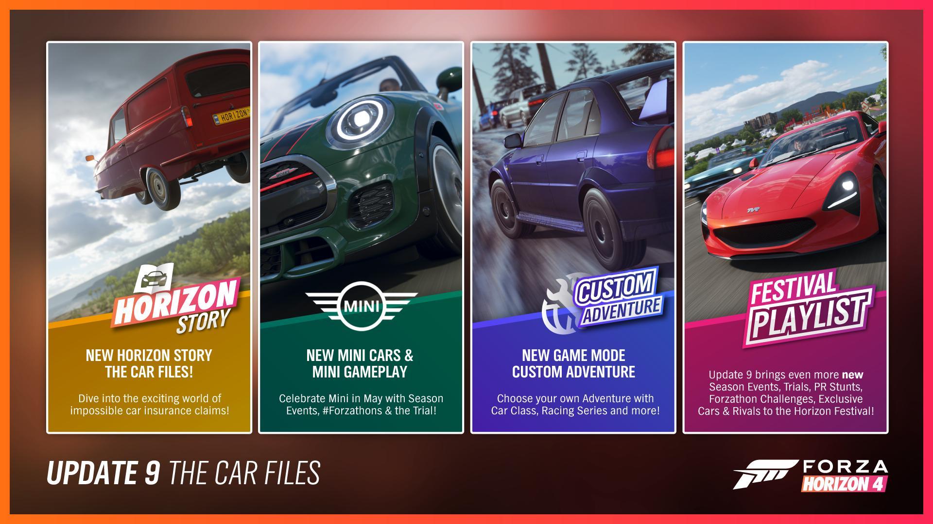 Forza Horizon 4 update 9
