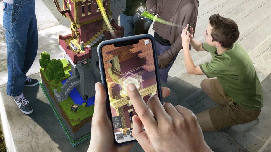 Microsoft revela Minecraft Earth, su juego de realidad aumentada