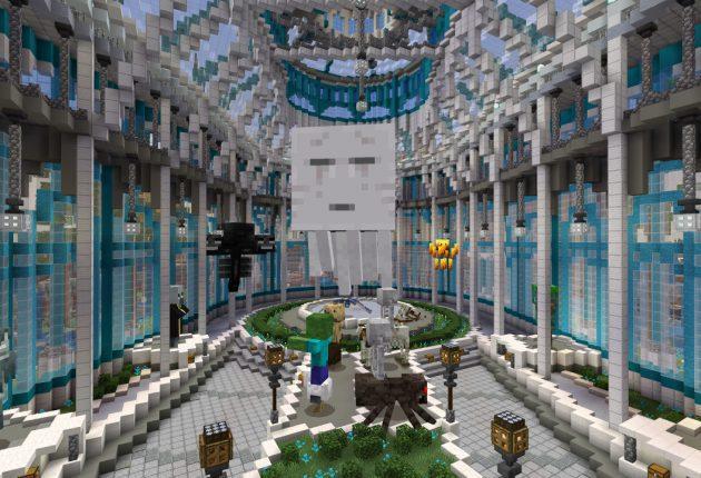 Mapa Blockworks de Minecraft.