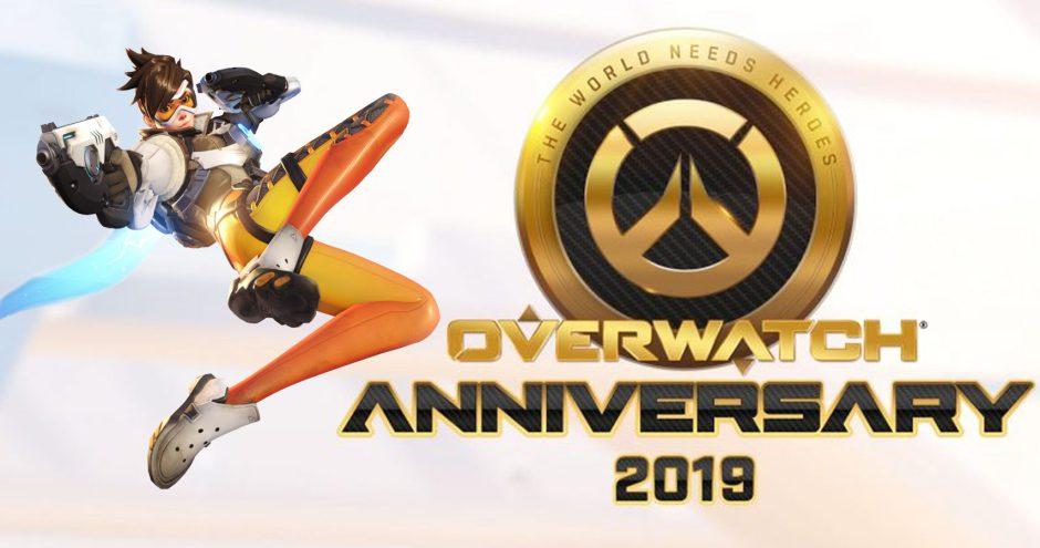Comienza el evento por el tercer aniversario de Overwatch, con novedades y días de juego gratis
