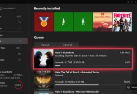 Obtén más información de tus descargas con la última actualización de Xbox One