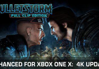 Bulletstorm: Full Clip Edition recibe hoy un parche 4K para Xbox One X