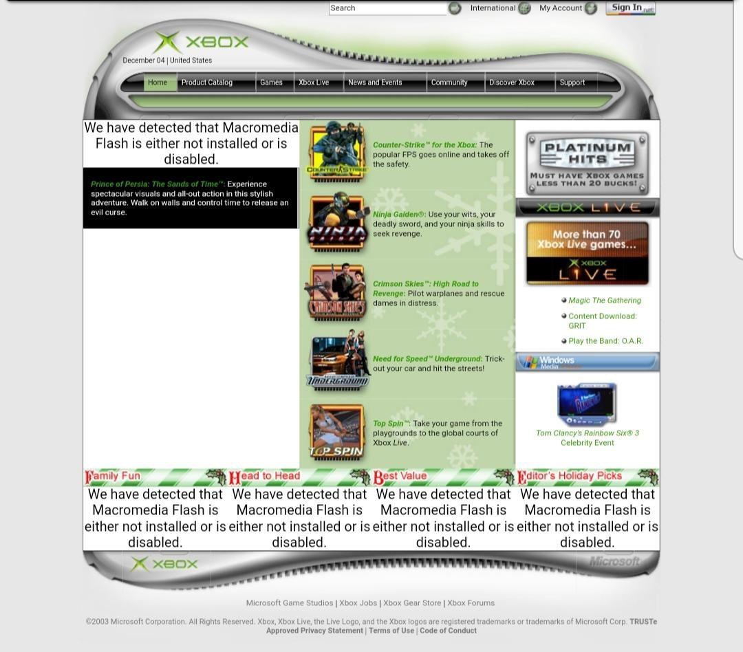 Web Xbox