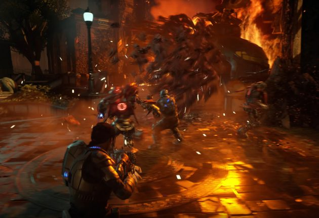 Captura del trailer gameplay en Gear 5.