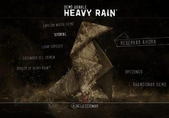 La demo de Heavy Rain para PC, ya disponible en la Epic Games Store
