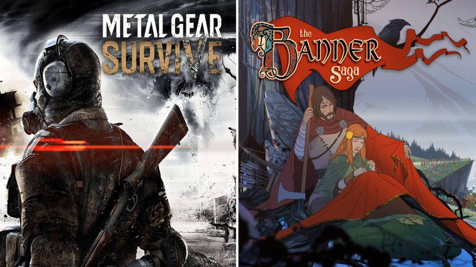 Metal Gear Survive y The Banner Saga, ya disponibles en Xbox Game Pass