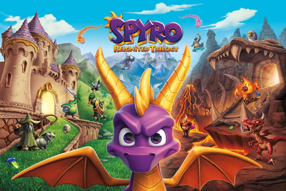 Spyro Reignited Trilogy podría llegar próximamente a PC a manos de Iron Galaxy