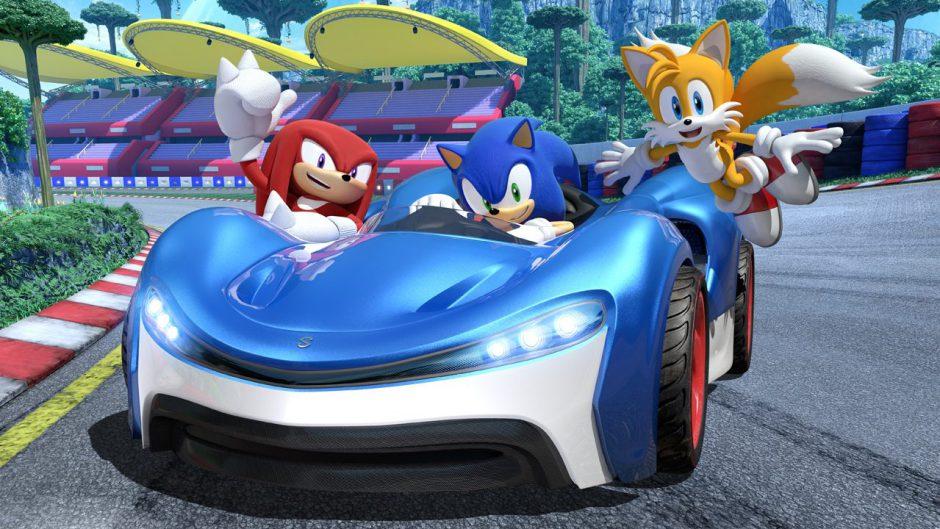 Pisa a fondo el acelerador con el trailer de lanzamiento de Team Sonic Racing