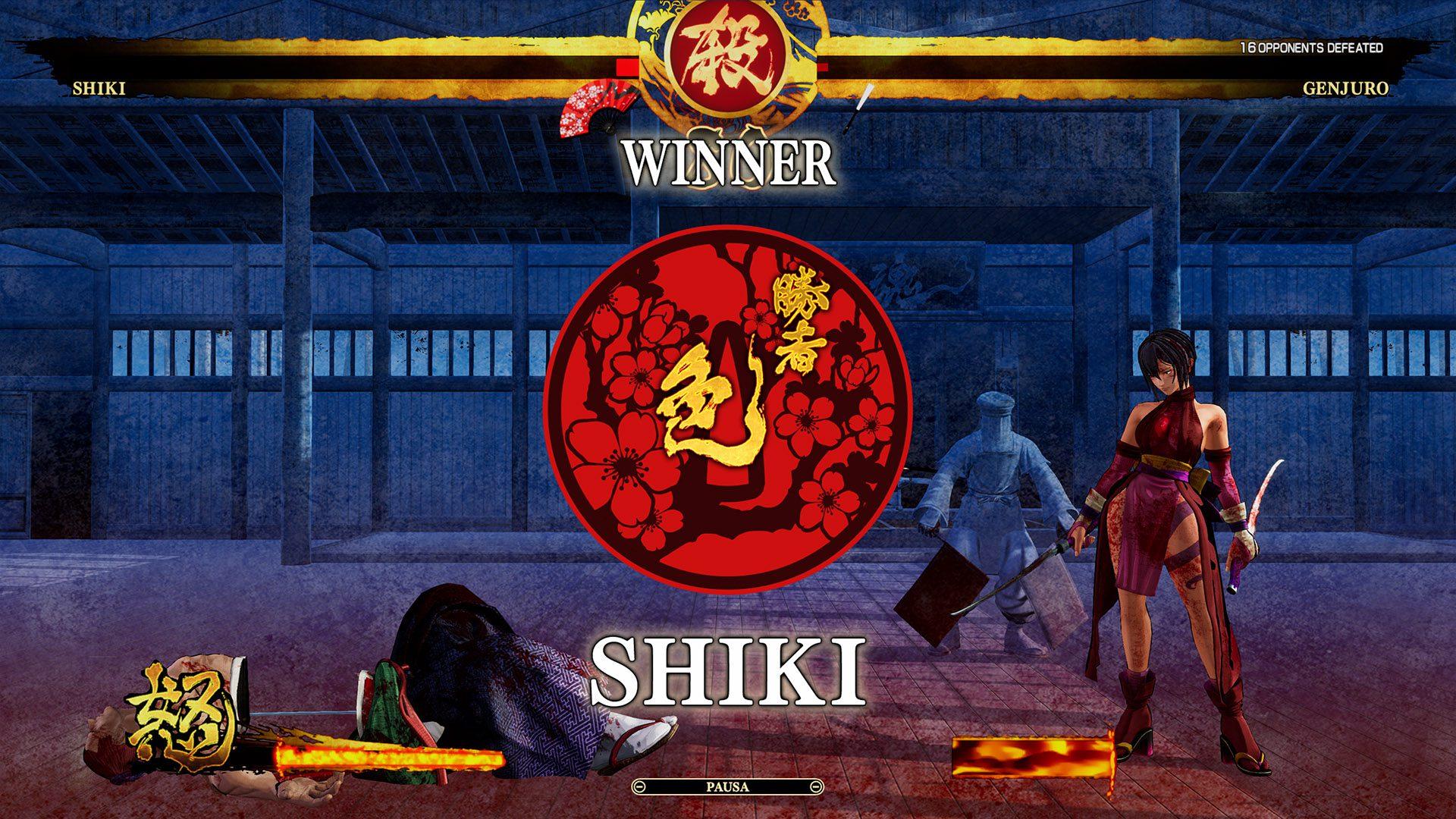 Análisis de Samurai Shodown