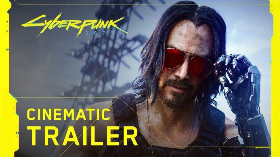 Trailer y fecha de lanzamiento de Cyberpunk 2077… ¡con Keanu Reeves! #XboxE3