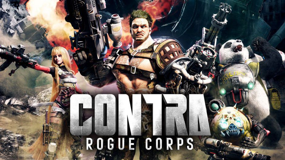 Konami anuncia Contra: Rogue Corps y llegará en septiembre