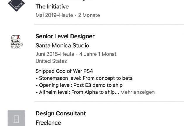 The Initiative ficha a dos diseñadores de Sony Santa Monica