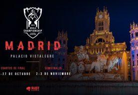 Madrid es el escenario elegido para celebrar una de las fases finales de los Worlds Championship de LoL