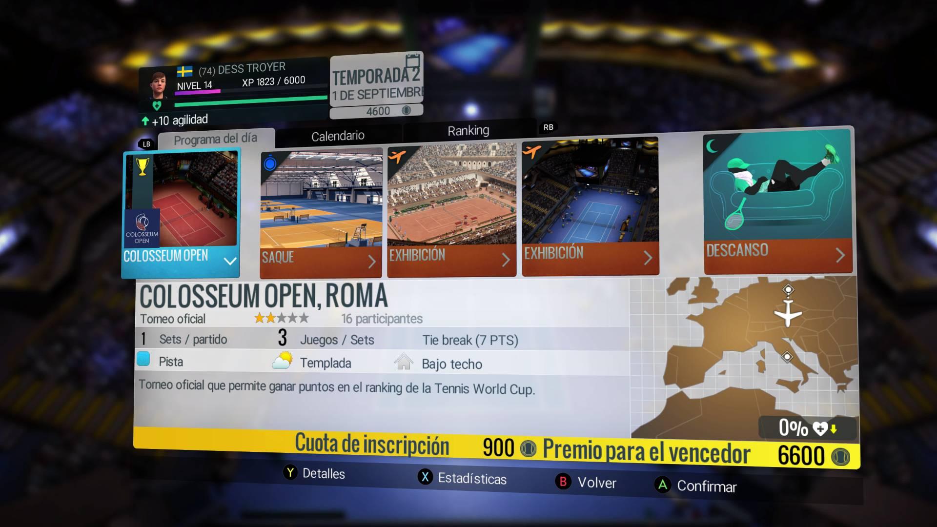 Calendario Roland Garros 2020.Analisis De Tennis World Tour Roland Garros Edition