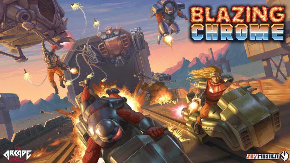 Blazing Chrome estará disponible el próximo 11 de Julio