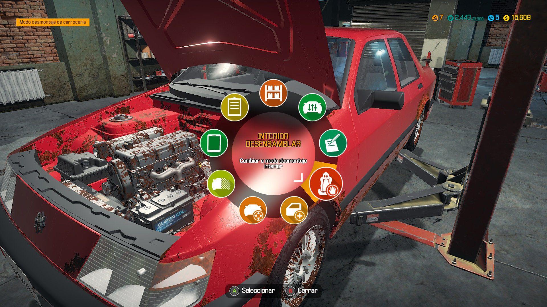 Análisis de Car Mechanic Simulator