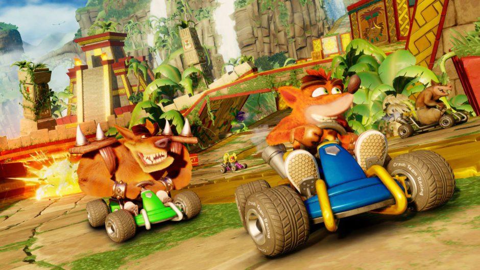 Crash Team Racing Nitro Fueled recibirá su primera gran actualización