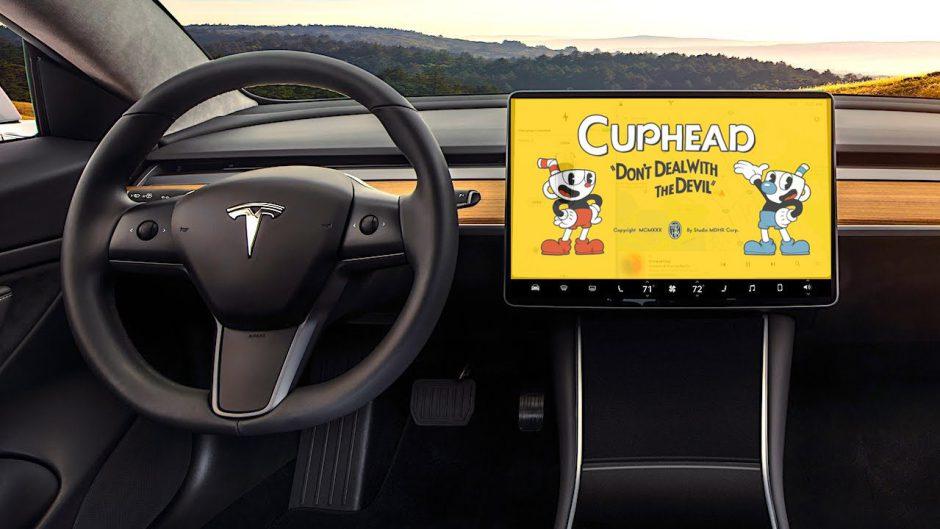Cuphead pronto será jugable en varios modelos de Tesla