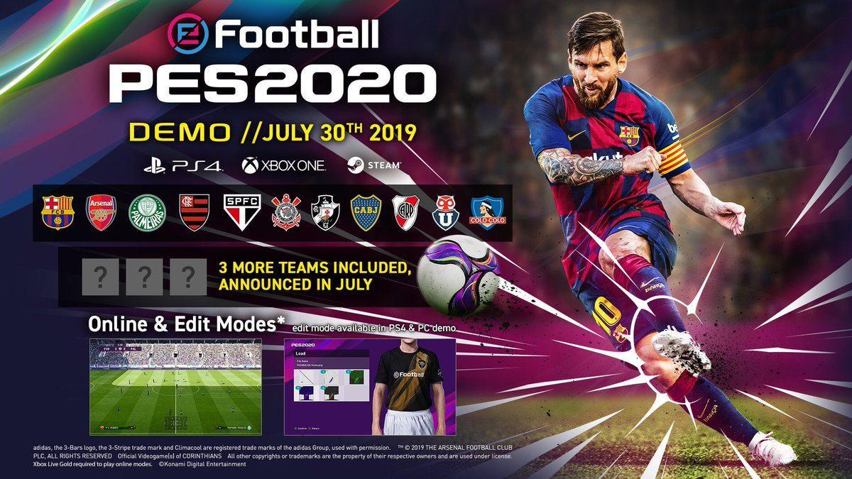 Demo eFootball PES 2020