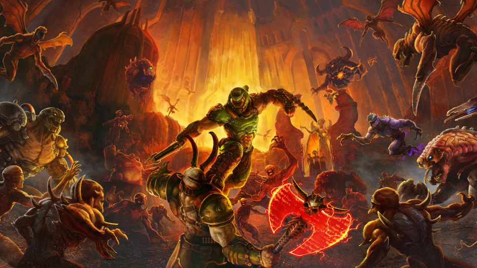 ID Software destaca la importancia de las zonas de plataformas en Doom Eternal