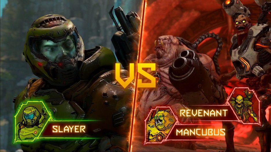 Nuevo y brutal gameplay del apartado multijugador de Doom Eternal