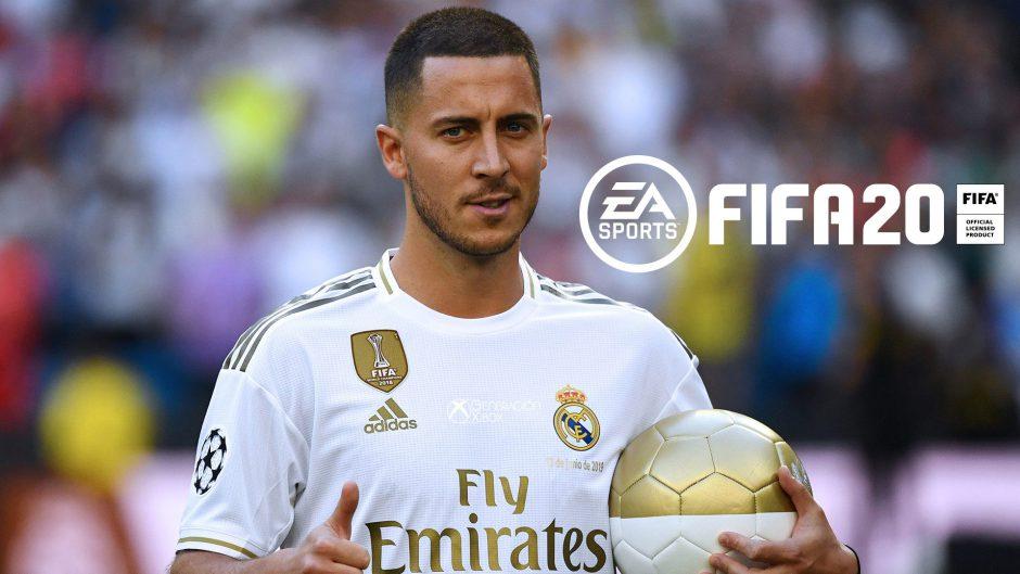 FIFA 20 da la bienvenida a Hazard y Jovic al Real Madrid