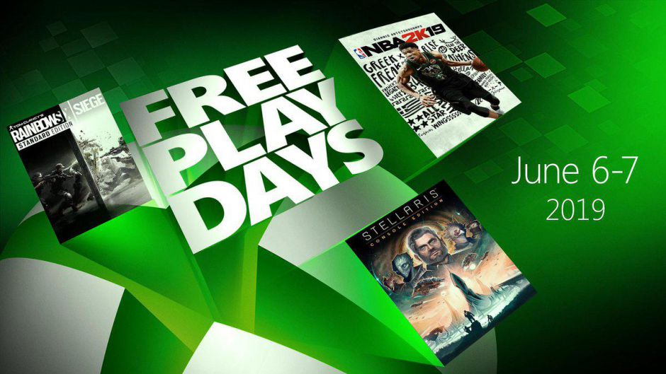 Rainbow Six: Siege, Stellaris y NBA 2K19 gratis con los Free Play Days