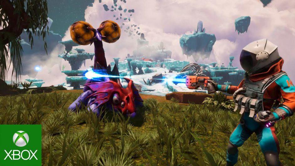Journey to the Savage Planet muestra su gameplay en un tráiler #InsideXboxE3