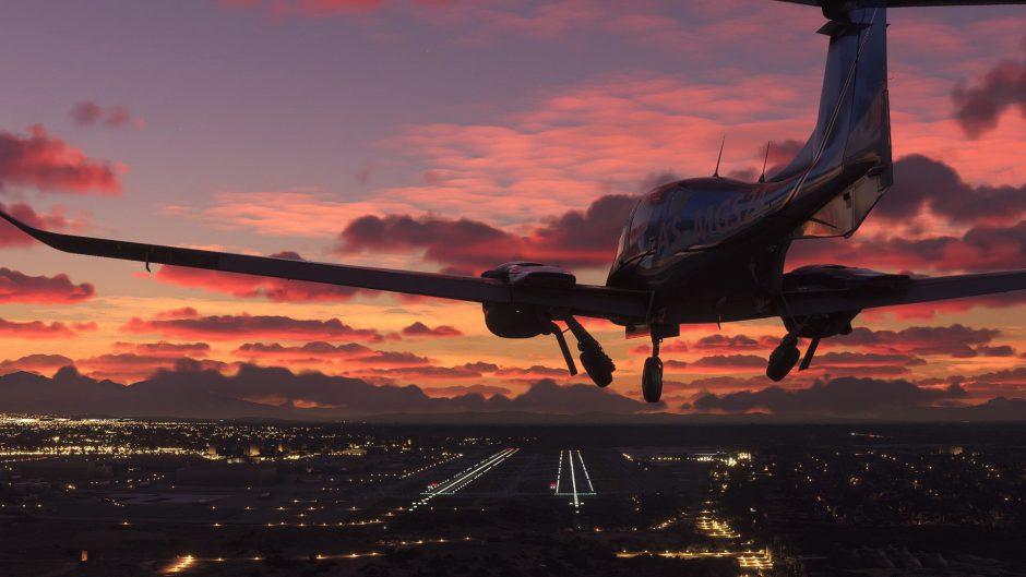 Sonido y gráficos hiperrealistas en Microsoft Flight Simulator