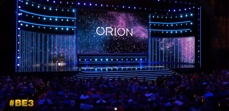 Bethesda presenta Orion, motor basado en la nube que mejorará el juego en streaming #BE3