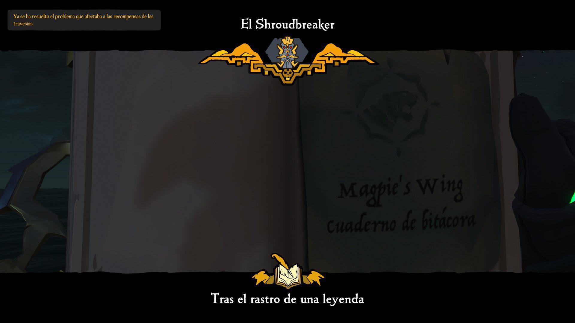 Guía de Sea of Thieves Tall Tales: El Shroudbreaker