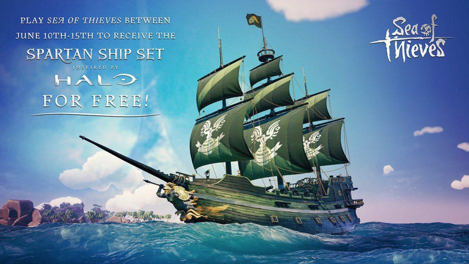 ¡Consigue el Set Spartan para tu barco jugando esta semana a Sea of Thieves! #InsideXboxE3