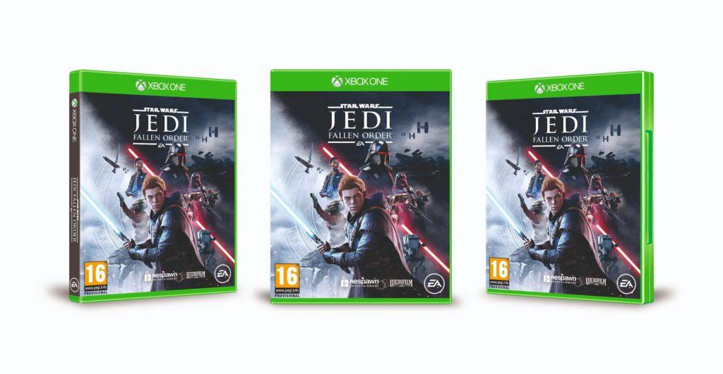 EA sorprende con las diferentes portadas de Star Wars Jedi: Fallen Order