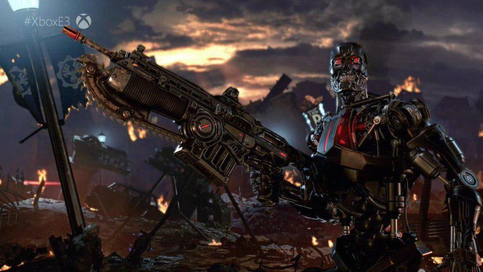 Primer vistazo del personaje de Sarah Connor en Gears 5