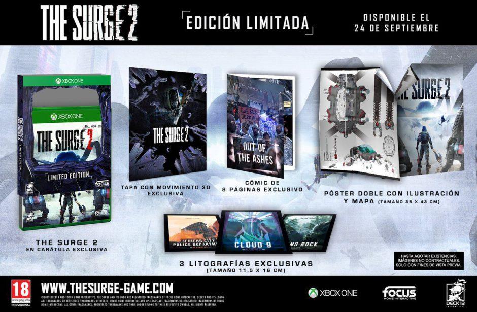 The Surge 2 se prepara para su lanzamiento el 24 de septiembre con una edición limitada
