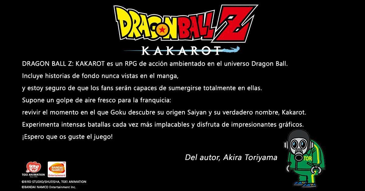 Dragon Ball Z: Kakarot contará con historias originales no contadas en el manga