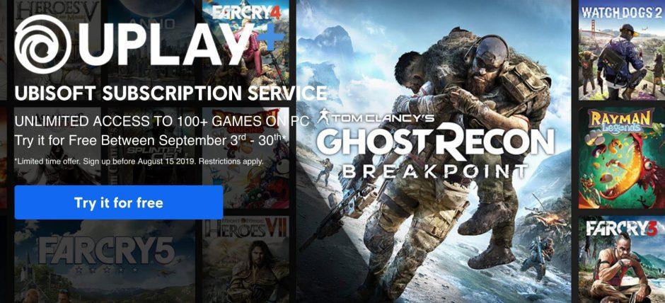 Ubisoft revela todos los juegos del catálogo de lanzamiento de Uplay Plus