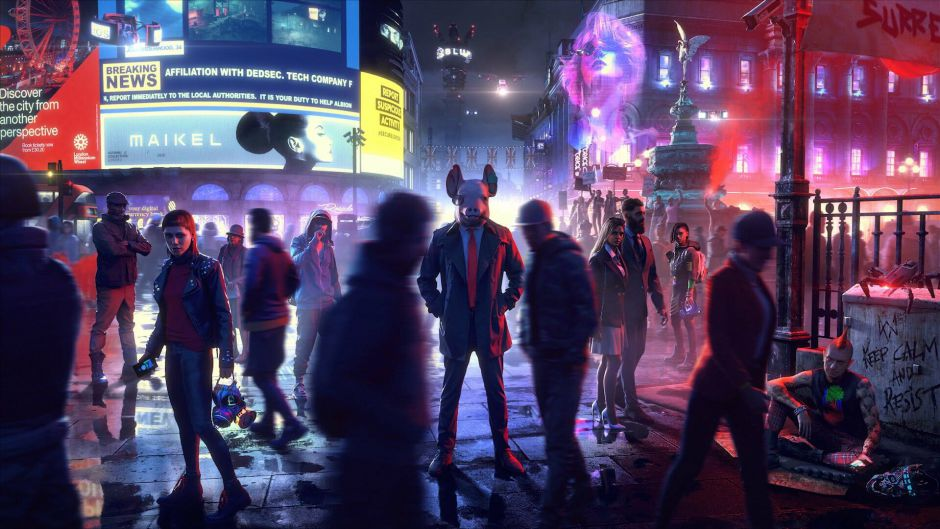 Primera entrevista in-game en Watch Dogs Legion